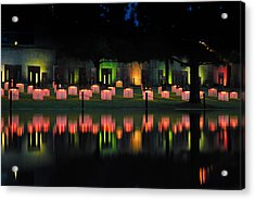 Oklahoma City National Memorial - Field Of Empty Chairs Acrylic Print by Gregory Ballos