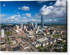 Oklahoma City Acrylic Print by Cooper Ross