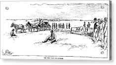 Oklahoma Land Rush, 1889 Acrylic Print by Granger