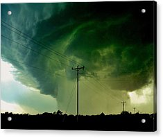 Acrylic Print featuring the photograph Oklahoma Mesocyclone by Ed Sweeney