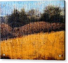 Oklahoma Prairie Landscape Acrylic Print