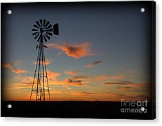Oklahoma Skies 1 Acrylic Print by Jim McCain