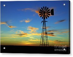 Oklahoma Skies 2 Acrylic Print by Jim McCain