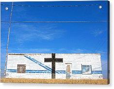 Oklahoma Style Acrylic Print