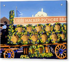Acrylic Print featuring the painting Oktoberfest by Lynne Reichhart
