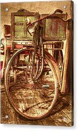 Ol' Rusty Antique Acrylic Print by Debra and Dave Vanderlaan
