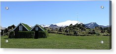 Acrylic Print featuring the photograph Olafsvik by Christian Zesewitz