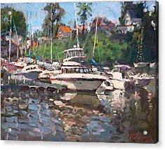 Olcott Yacht Club Acrylic Print