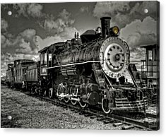Old 104 Steam Engine Locomotive Acrylic Print