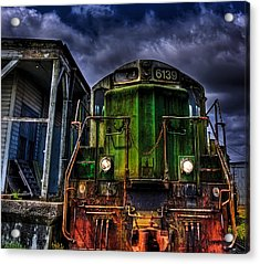 Acrylic Print featuring the photograph Old 6139 Locomotive by Thom Zehrfeld