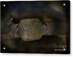 Old 620 Acrylic Print by The Stone Age