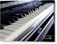 Old 88 Piano Acrylic Print