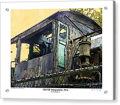 Acrylic Print featuring the photograph Old 924 by Kenneth De Tore