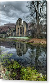 Old Abbey Acrylic Print by Adrian Evans