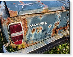 Old Aged Acrylic Print by Dale Kincaid