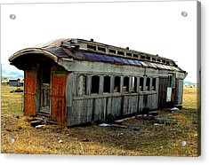Old And Forgotten Acrylic Print by Roxann Tempel