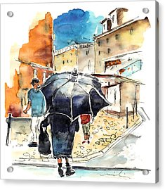 Old And Lonely In Portugal 03 Acrylic Print by Miki De Goodaboom