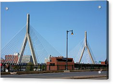 Old And New Boston Acrylic Print by Kristin Elmquist