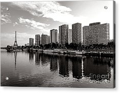 Old And New Paris Acrylic Print