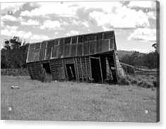 Old And Tired Acrylic Print by Philip Hartnett