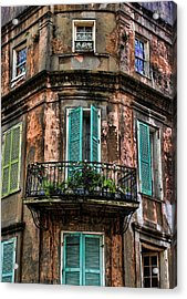 Old And Weathered Acrylic Print