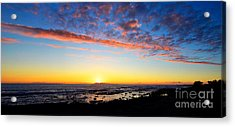 Acrylic Print featuring the photograph Old A's Panorama by David Lawson
