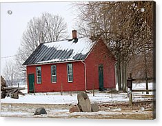 Old Ashland School House Acrylic Print