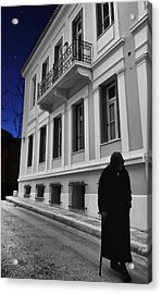 Old Athens Acrylic Print by Stellina Giannitsi