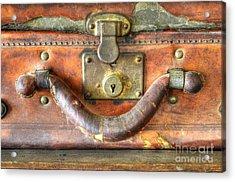 Old Baggage Acrylic Print by Bob Christopher