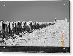 Old Bahia Honda Bridge Acrylic Print