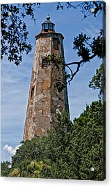 Old Baldy Acrylic Print by Sandra Anderson