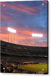 Old Ball Game Acrylic Print by Photographic Arts And Design Studio