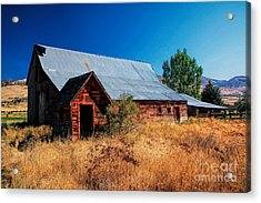 Old Barn And Shed Acrylic Print