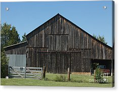 Old Barn And Truck Acrylic Print