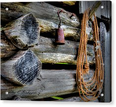 Old Barn Goods Acrylic Print