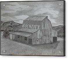 Old Barn II Acrylic Print