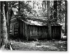 Old Barn In Georgia Acrylic Print