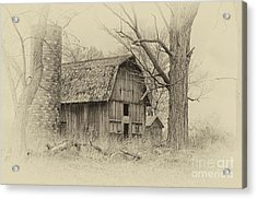 Acrylic Print featuring the photograph Old Barn by JRP Photography