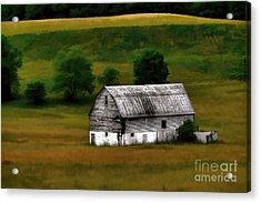 Old Barn Near Buckhannon Acrylic Print