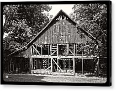 Old Barn On Hwy 161 Acrylic Print