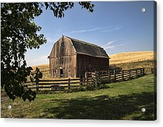 Old Barn On The Palouse Acrylic Print