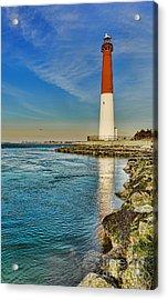 Old Barney At Sunrise - Barnegat Lighthouse Acrylic Print by Lee Dos Santos
