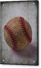 Old Baseball Acrylic Print