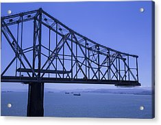 Old Bay Bridge Acrylic Print