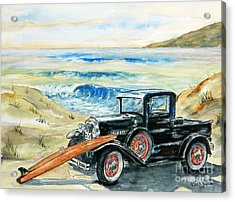 Old Beach Buggy Acrylic Print