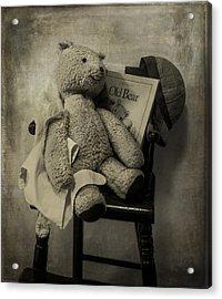 Old Bear Acrylic Print by Wayne Meyer