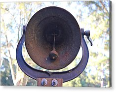 Old Bell Acrylic Print by Lorna Maza