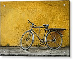 Acrylic Print featuring the photograph Old Bike by Kim Andelkovic