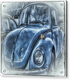 Old Blue Bug Acrylic Print