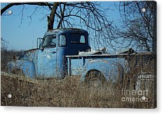 Old Blue  Acrylic Print by J L Zarek